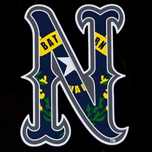 baseball hat nevada logo